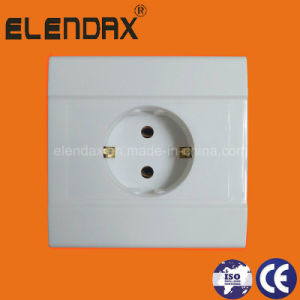 10-16A EU Style Flush Mounted Wall Socket Outlet (F1210) pictures & photos