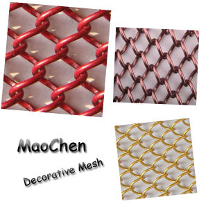 Chain Link Mesh for Decoration / Decorative Chain Link Wire Mesh