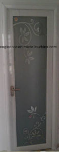 Real Photo White Aluminum Bathroom Door (EA-1002) pictures & photos