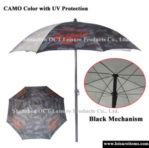 Camo Beach Umbrella with UV Protection (OCT-BUAD9) pictures & photos
