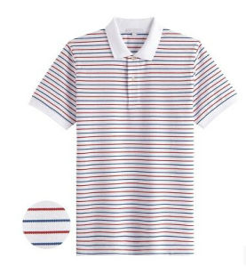 Men′s Classic Yarn Dyed Sport Polo Shirt (CT-T045)