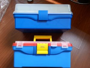 Plastic Art Tool Box for Storage (SF-G556D) pictures & photos