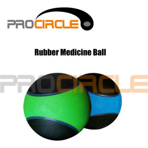 Mixed Colored Rubber Medicine Weight Slam Ball (PC-MB1107) pictures & photos