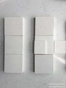 Pure White Quartz Stone Coutertop for Kitchen