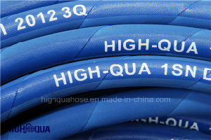 Idustria High Pressure Rubber Hydraulic Pressure Hose pictures & photos