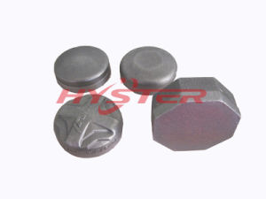 Chrome Carbide Wear Blocks Laminated Wear Buttons and Donuts Bucket Wear Protectors pictures & photos
