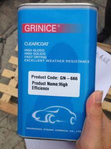 Good Quality Acrylic Fast Drying Clearcoat pictures & photos