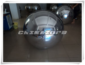 Most Popular Silver Inflatable Mirror Ball for Decoration pictures & photos