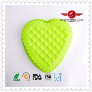 Heart Silicone Cake Mold for Pudding Jelly Muffin Molds pictures & photos