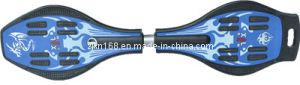 Caster Board, Two-Wheel Skateboard, Street-Surfing Board Xal (2HB-02) Blue