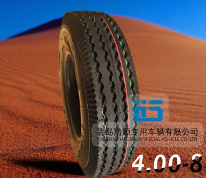 Tricycle Tire Keke Tire 4.00-8 pictures & photos