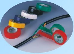 PVC Electrical Tape (flame retardant) 130um pictures & photos