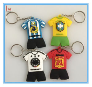 Cheap OEM 3D Custom All Type of 3D Rubber Keychains pictures & photos