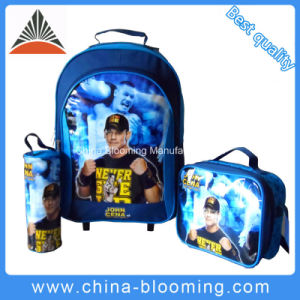 Back to School Stationery Rolling Backpack Trolley Bag pictures & photos