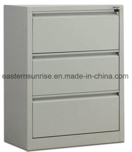 Three Drawers Metal Steel Iron Office Vertical Filing Cabinet pictures & photos