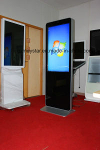Full HD Touch Screen Floor Stand Kiosk Camera Photo Booth pictures & photos