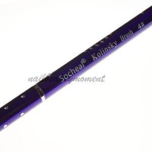 Acrylic Nail Beauty Manicure Art Gel Kolinsky Brush Tool (B029) pictures & photos