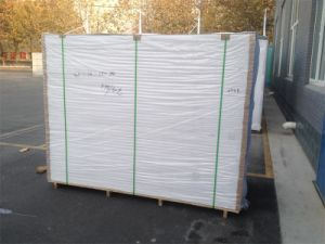 0.55 Density 4mm Thickness PVC Sheet to Spain pictures & photos