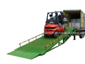 Hydraulic Manual Operated Adjustable Loading Dock Ramp pictures & photos