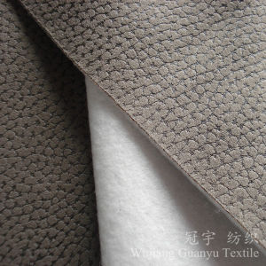 Microfiber Home Textile Polyester Suede Fabric for Sofa pictures & photos