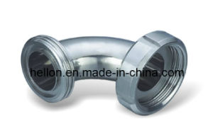 Sanitary Clamp 90 Degree Pipe Fittings Elbow pictures & photos