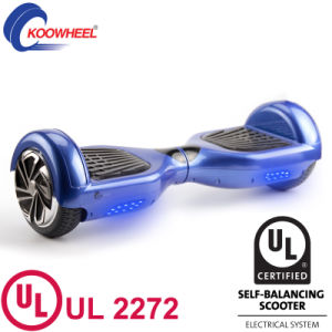 UL2272 2016 Most Popular with Bluetooth Speaker Skateboard Self Balancing Scooter pictures & photos