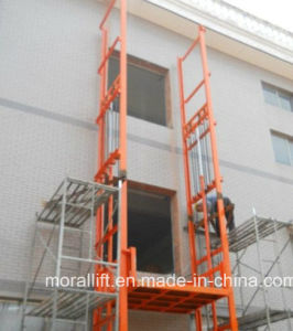 CE Certificated Rail Hydraulic Platform Lift for Sale pictures & photos