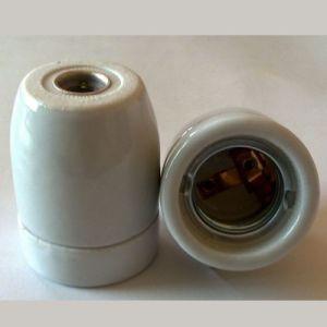 E27 Porcelain Lampholder, Ceramic Lamp Holder E27 pictures & photos