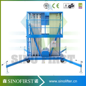 8m Push Around Aluminum Alloy Aerial Elevator Platforms pictures & photos
