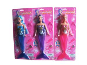 11.5 Inch Hard Material Wind up Plastic Girls Toy Doll (10217621) pictures & photos