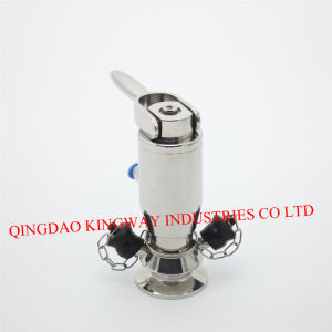 Sanitary Turning Handle Type Welded Sampling Valve, pictures & photos