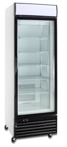360L Upright Freezer for Ice Cream Display pictures & photos