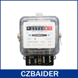 Single Phase Electronic Active Watt Hour Digital Energy Meter Kwh (DD862)