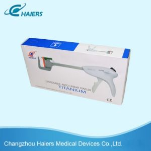 Innovative Disposable Linear Stapler for Suture Surgery pictures & photos