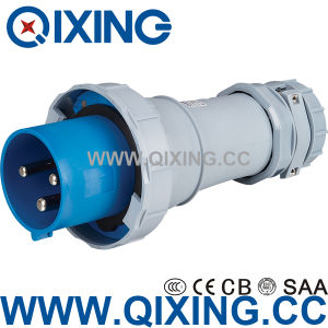 125A Three Phase Electric Male Connector for Industry (QX3400) pictures & photos