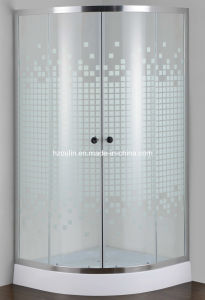 Painted Glass Simple Shower Room (E-01P) pictures & photos