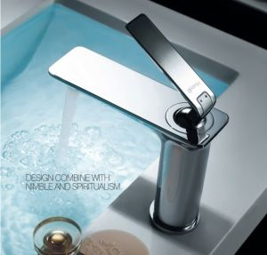Luxury Single Lever Basin Water Faucet (DH32) pictures & photos