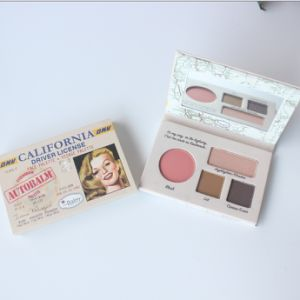 The Balm Lip Balm & Powder& Eyeshadow &Blusher 4 in 1 Makeup Kit pictures & photos