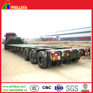 80ton-120ton 3lines 6axles Heavy Duty Truck Low Bed Semi Trailers pictures & photos