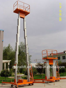 Hydraulic Aluminum Alloy Lift Aluminum Work Platform pictures & photos