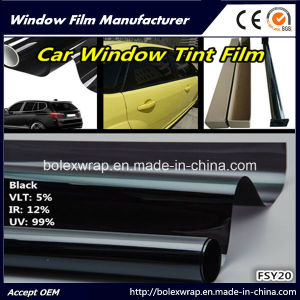 Vlt 5%~35% Window Tint Film Roll, Solar Film for Privacy and Heat Reduction pictures & photos