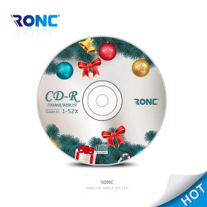 Blank CD-R 52X/700MB/80min for Music and Video pictures & photos