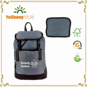 Promotional Cheap Ripstop Polyester Portable Lightweight Foldable Sports Backpack pictures & photos
