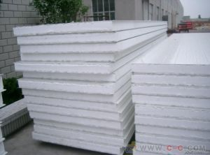 Hot Selling Waterproof Heat Preservation PU Sandwich Panel pictures & photos