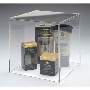 12 Inches Clear Acrylic Dust-Proof Display Cover Box pictures & photos
