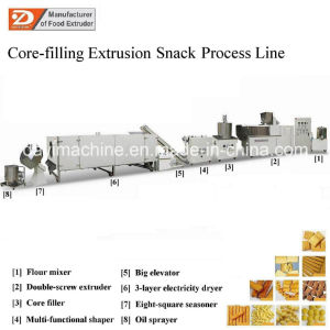 Puffed Corn Wheat Snacks Food Extruder/Machines pictures & photos