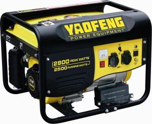 2500 Watts Portable Power Gasoline Generator with EPA, Carb, CE, Soncap Certificate (YFGP3000E1) pictures & photos