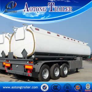9 Compartment 3 Axle Diesel Fuel Tank Trailer for Sale pictures & photos