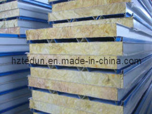 50mm Thickness Rockwool Sandwich Panel for Roof (ROCKWOOL965) pictures & photos