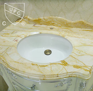 Perfect Design Vitreous China Bathroom Under Counter Cupc Sink (SN022) pictures & photos